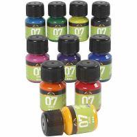 A-Color Lasimaali, värilajitelma, 10x30 ml/ 1 pkk