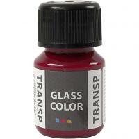 Glass Color Transparent lasimaali, pinkki, 30 ml/ 1 pll