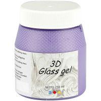 3D lasigeeli, lila, 250 ml/ 1 tb