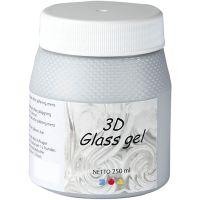 3D lasigeeli, hopea, 250 ml/ 1 tb