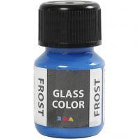 Glas Color Frost huurremaali, sininen, 30 ml/ 1 pll