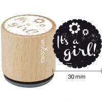Puuleimasin, It's a girl, Kork. 35 mm, halk. 30 mm, 1 kpl