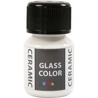 Glass Ceramic, valkoinen, 35 ml/ 1 pll