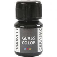 Glass Ceramic, musta, 35 ml/ 1 pll