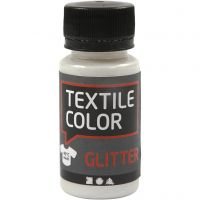 Textile Color Glitter, kimalle, kuulto, 50 ml/ 1 pll