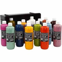 Textile Color, värilajitelma, 15x500 ml/ 1 pkk