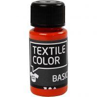 Textile Color, oranssi, 50 ml/ 1 pll