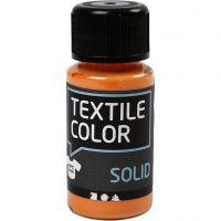 Textile Color Solid, peittävä, oranssi, 50 ml/ 1 pll