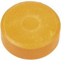 Vesivärinapit, Kork. 16 mm, halk. 44 mm, oranssi, 6 kpl/ 1 pkk