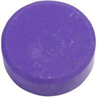 Vesivärinapit, Kork. 16 mm, halk. 44 mm, violetti, 6 kpl/ 1 pkk