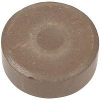Vesivärinapit, Kork. 16 mm, halk. 44 mm, ruskea, 6 kpl/ 1 pkk