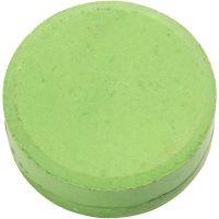 Vesivärinapit, Kork. 19 mm, halk. 57 mm, vihreä, 6 kpl/ 1 pkk