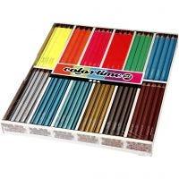 Colortime-värikynät, Pit. 17,45 cm, kärki 4 mm, 144 kpl/ 1 pkk
