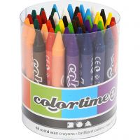 Colortime-vahaliidut, Pit. 10 cm, paksuus 11 mm, värilajitelma, 48 kpl/ 1 pkk