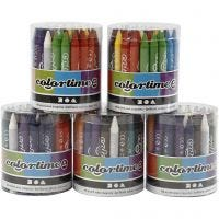 Colortime-vahaliidut, 5x48 laj/ 1 set