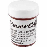 Pavercolor, terrakotta, 40 ml/ 1 pll