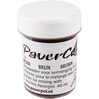 Pavercolor, ruskea, 40 ml/ 1 pll