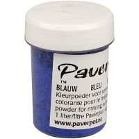 Pavercolor, sininen, 40 ml/ 1 pll
