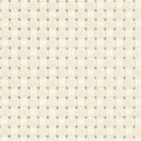 Aida-kangas, koko 50x50 cm, 35 ruutua per 10 cm, luonnonvalkonen, 1 kpl