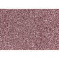 Silityskalvo, 148x210 mm, kimalle, vaaleanpunainen, 1 ark