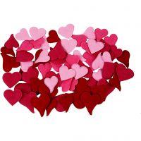 Sydämet, 160 kpl/ 1 pkk