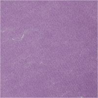 Askarteluhuopa, meleerattu, violetti, 10 ark/ 1 pkk