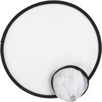 Frisbee, halk. 25 cm, valkoinen, 5 kpl/ 1 pkk