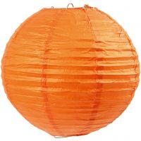 Paperilamppu, halk. 20 cm, oranssi, 1 kpl