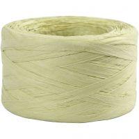 Raffia- paperinaru, Lev: 7-8 mm, vaaleanvihreä, 100 m/ 1 rll