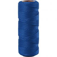 Bambulanka, paksuus 1 mm, sininen, 65 m/ 1 rll