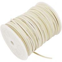 Mokkajäljitelmänyöri, paksuus 3 mm, beige, 100 m/ 1 rll