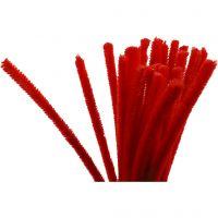 Askartelupunokset, Pit. 30 cm, paksuus 9 mm, punainen, 25 kpl/ 1 pkk