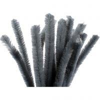 Askartelupunokset, Pit. 30 cm, paksuus 15 mm, harmaa, 15 kpl/ 1 pkk