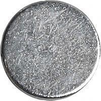 Magneettinappi, halk. 10 mm, paksuus 2 mm, 100 kpl/ 1 pkk
