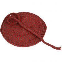 Kudosputki, Lev: 10 mm, joulunpunainen/harmaa, 10 m/ 1 rll