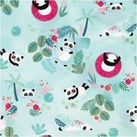Lahjapaperi, Panda, Lev: 35 cm, 100 m/ 1 rll