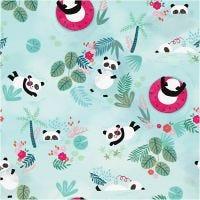 Lahjapaperi, Panda, Lev: 70 cm, 10 m/ 1 rll