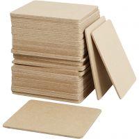 Lasinalusta, koko 10x10x0,3 cm, 50 kpl/ 1 pkk