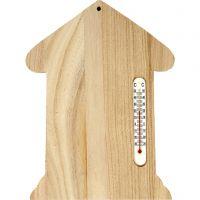 Lämpömittari, koko 23,5x16,5 cm, 1 kpl