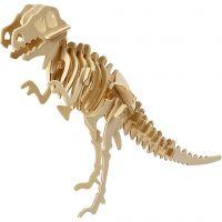 3D-palapeli, dinosaurus, koko 33x8x23 cm, 1 kpl
