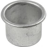 Kynttilänpesä, Kork. 18 mm, halk. 25 mm, aukon koko 22 mm, 12 kpl/ 1 pkk