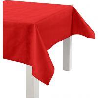 Pöytäliina kangasjäljitelmää, Lev: 125 cm, 70 g, punainen, 10 m/ 1 rll