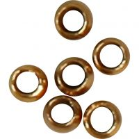 Lukitushelmi, halk. 2 mm, kullanvärinen, 1000 kpl/ 1 pkk