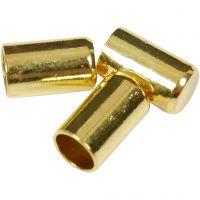 Nyörinpää, halk. 2,5 mm, kullanvärinen, 50 kpl/ 1 pkk