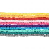 Savihelmet, halk. 5-6 mm, aukon koko 2 mm, värilajitelma, 10x145 kpl/ 1 pkk