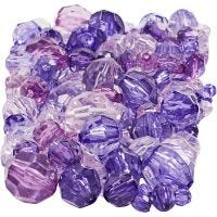 Särmähelmet, koko 4-12 mm, aukon koko 1-2,5 mm, violetti, 250 g/ 1 pkk