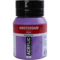 Amsterdam- akryylimaali, peittävä, Ultramarine violet, 500 ml/ 1 pll