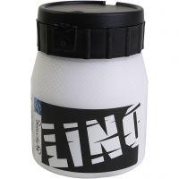 Linoväri, valkoinen, 250 ml/ 1 tb