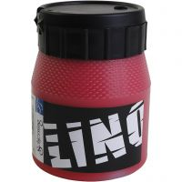 Linoväri, punainen, 250 ml/ 1 tb