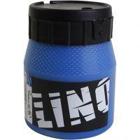 Linoväri, sininen, 250 ml/ 1 tb
